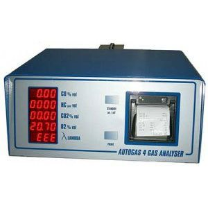 AUTO GAS 4 Gas Analyzer
